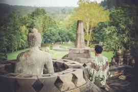 Internship in Indonesia - borobudur image